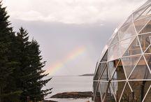 Creative Geodesic Dome Living / Creative ways to use a geodesic dome!