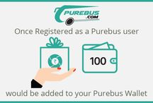 New user Registration offer on purebus.com only / Online bus ticket booking