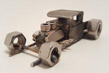 miniatuur auto zelfbouw