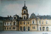 Anahíta Galéria / mini akvarell képek, és olajfestmények