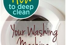 clean washing machine