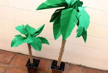 How To Make A Coconut Tree