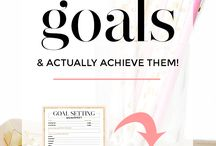 Goal Setting Tips & Resourses / productivity, how to reach goals, time management