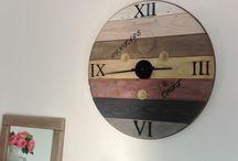 Horloge touret
