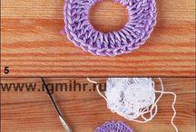 tejidos para decorar / crochet