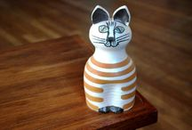 - Lisa Larson - Swedish Pottery / by Džiuljeta