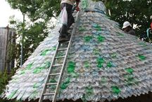 Plastic Bottle Roof