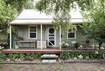 Cute weatherboard cottages