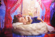 Fairytales with newborn / My passion to tell fairytales with litte babys