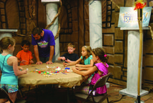 VBS--Bible Blast from the Past Preschool Crafts and decorating