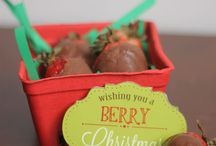 Strawberry Gifts - homemade