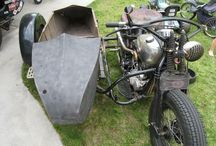 Sidecars / As it says!