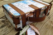 SUITCASE BOX SET - THE CUTTING CAFE / This paper suitcase is perfect for saving all of your vacation photos or even sending a family or friend some goodies from vacationing with you......plus good for so much more... http://thecuttingcafe.typepad.com/the_cutting_cafe/2013/03/suitcase-box-template-cutting-file.html