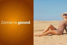 UV Bescherming - Tips / UV bescherming wordt steeds belangrijker. Het aantal mensen dat jaarlijks te maken krijgt met huidkanker stijgt explosief. Dit is meestal het gevolg van een verkeerde omgang met de zon. Huidkanker kan je helpen voorkomen met een juiste UV Bescherming. Smeer je goed in met een deugdelijke zonnebrandcreme en draag UV werende kleding.   Op dit bord informeren we je met handige tips op het gebied van UV bescherming. Kijk voor meer informatie ook op www.uv-zwemkleding.nl
