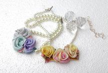 Silk ribbon accessories