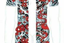 Irezumi designs