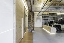 Cool / industrial workspace