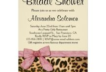 Bridal Shower Ideas / Elegant and stylish trends, party themes, invitations, favors and gift ideas for a fabulous chic and trendy Wedding Bridal Shower for the bride-to-be.