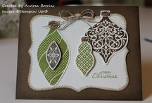 Ornaments Keepsake Cards SU / by Patricia Lemont