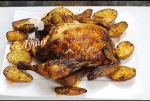 Συνταγές για κοτόπουλο  Rezepte für Hähnchen