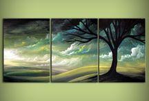 Triptychy