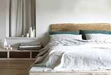 BED | / Rest + stay a while. We love these elemental, neutral tones.