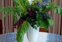 Flowers or Veggies? / Vegetable flower arrangements