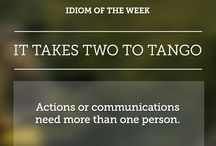 English idioms & expressions
