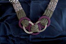 biżuteria z tkanin i nie tylko