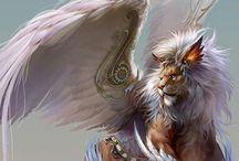 Mondo Fantasy: Creature / Personaggi