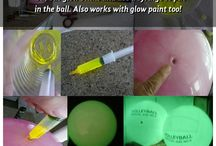 glow in the dark craft