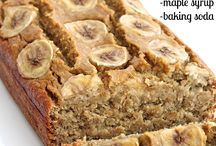 clean eating banana breads/muffins
