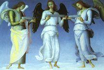 Angels in art / by Liz Mint
