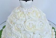 bridal cake cupcake
