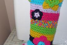 Crochet Lady's Bohemian Socks