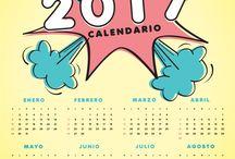 Diseño del calendario