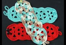 brazaletes crochet