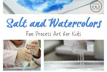 Art activities for young learners / Need ideas for art projects? Here's the place to find great art activites for kindergarten kids.