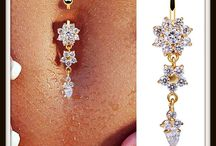 Gold Belly button rings