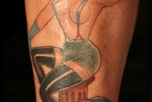 Pinup tattoos / From episode 106 of Ink Master / by SPIKE Ink Master