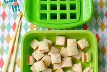 Lunch Fun / Look what you can do with Funbites, cookie cutters, pretty additions, and pretty boxes.