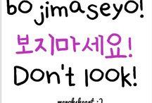 Korean talk ! / Let's learn Korean !