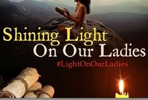 Shining Light on Our Ladies / A board celebrating Historical Fiction with fabulous heroines
