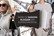 FASHION BLOG CONTEST: OP ZOEK NAAR DE FASHIONBLOGGER / Kledingvinder.nl is op zoek naar een enthousiaste en ervaren fashionblogger! Heb jij een blog waar je dagelijks jouw outfits op post en inspireer je daarmee je volgers? Houd jij hen graag op de hoogte van de laatste trends uit de leukste modecollecties? En wil je jezelf verder ontwikkelen als fashionblogger? Doe dan mee met de Fashion Blog Contest! #fashionblogcontest