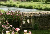 Gardens, landscape / landscape, gardens