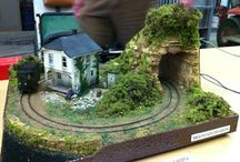 Model train micro layouts