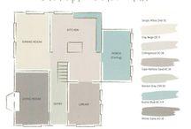 House paint colour plan