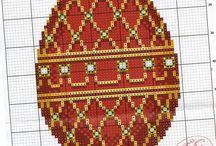 rubiininpunainen muna