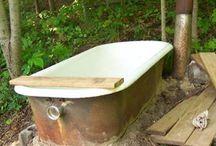 rocket stove bathtub