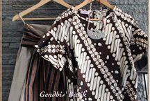 Batik Tenun Set